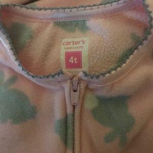 Carter's Pajamas - 4T and 5T NWT Carters Zip Up Pajamas